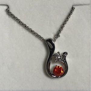 (Last 2) Austrian Crystal Pendant Necklace